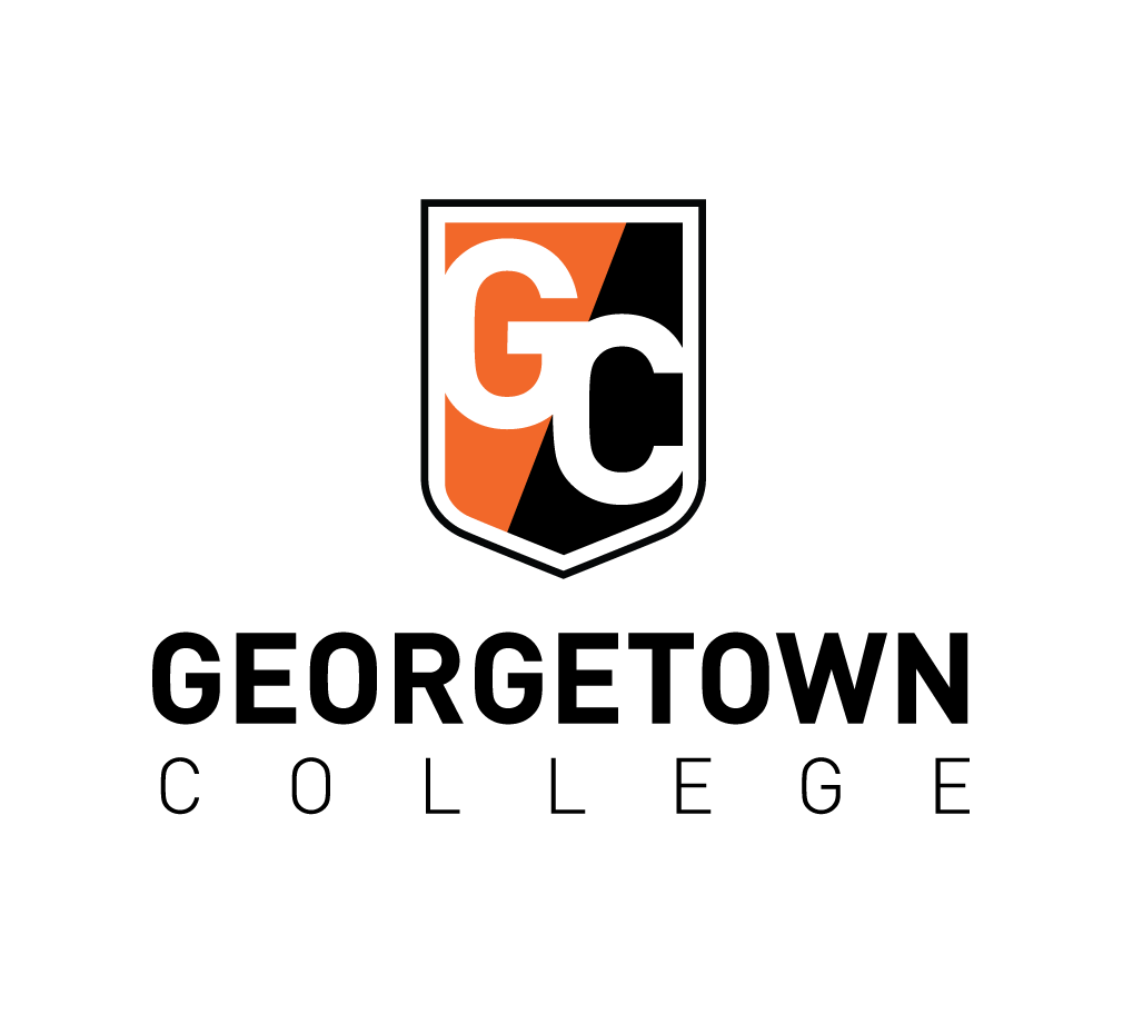 Georgetown College logo alternate position