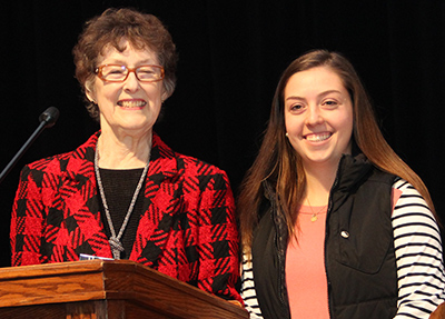 Ashton Trunnell honored by Woman's Association of Georgetown College