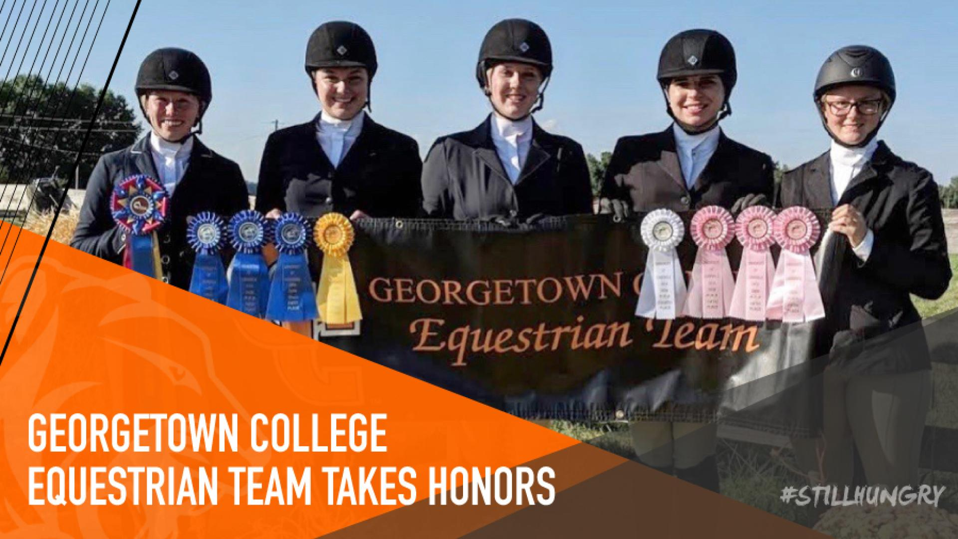 Five Riders Earn Thirteen Ribbons