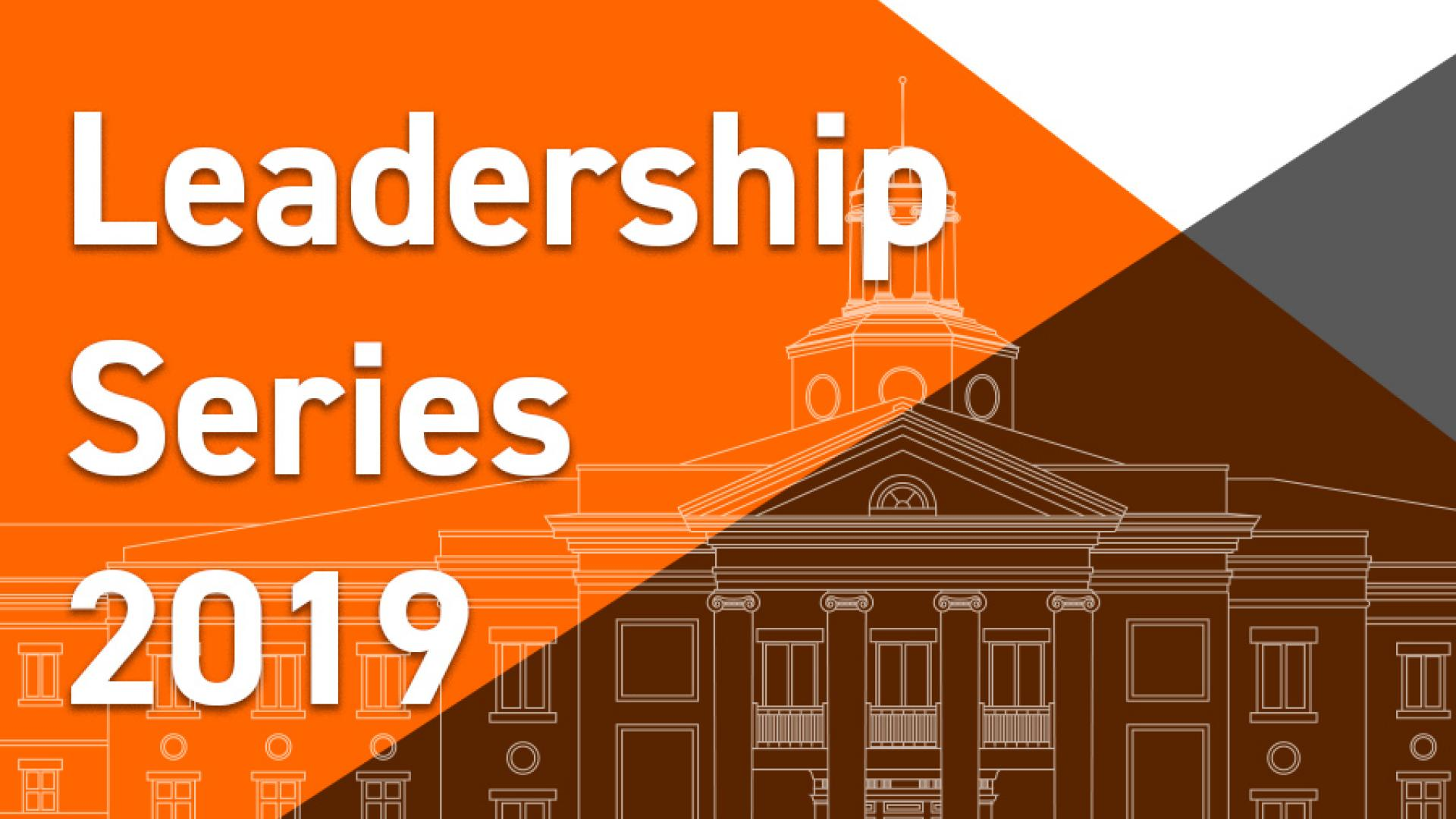Image header for Leadership Series 2019