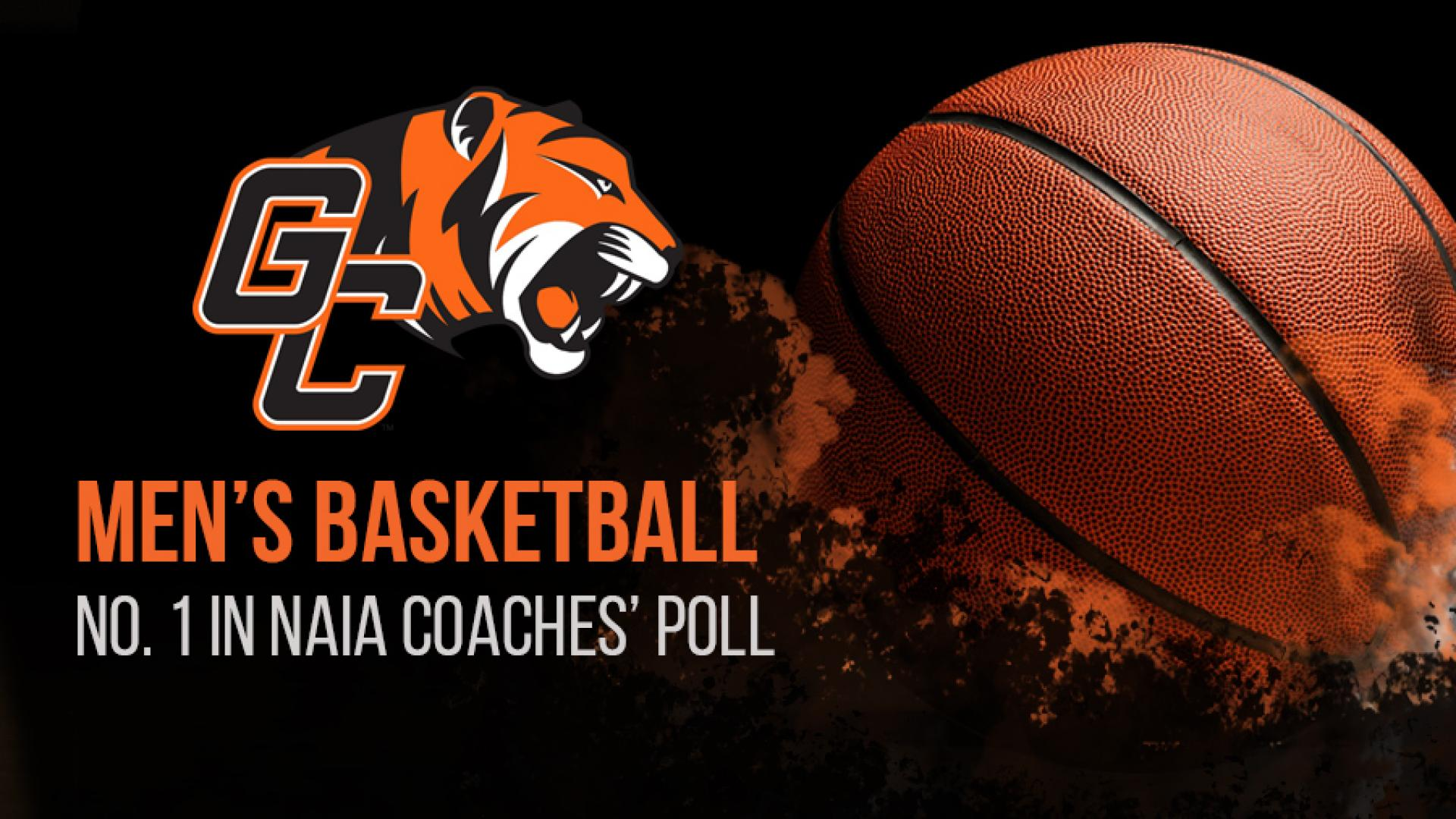 Men's basketball No. 1 in NAIA Coaches' Poll