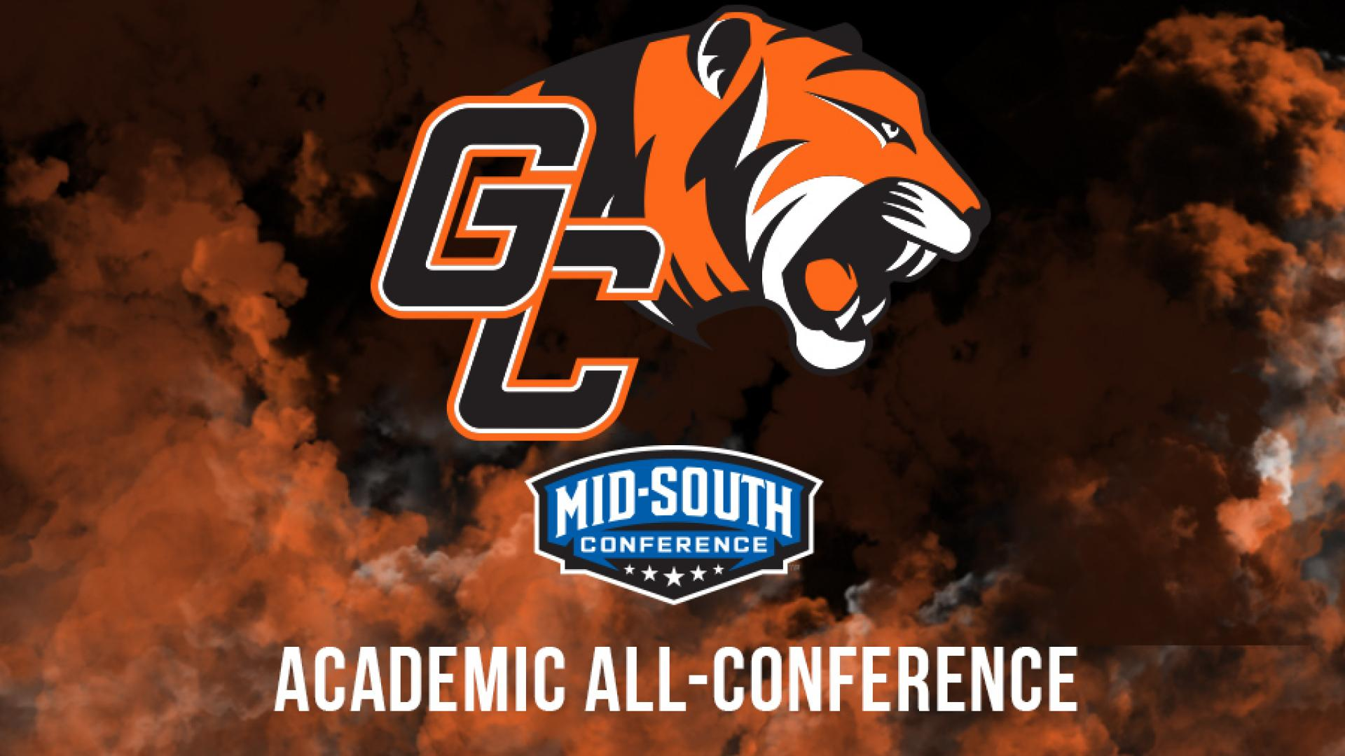 Nine on Women's Team Make Mid-South Academic All-Conference
