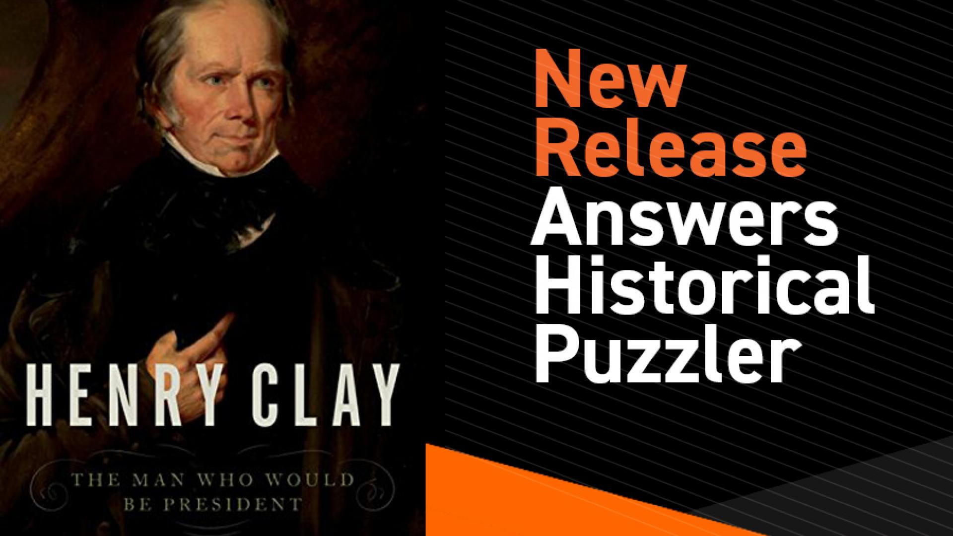 Jim Klotter's new book on Henry Clay