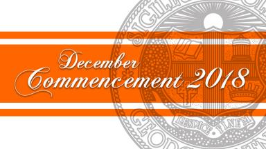 2018 Winter Commencement