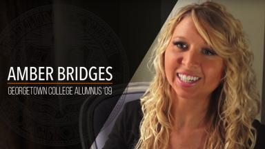 "Amber Bridges - Georgetown College Alumnus ""09"