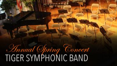 Tiger Symphonic Band Presents Annual Spring Event