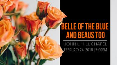 Annual Belle of the Blue and Beaus, Too Scholarship Pageant