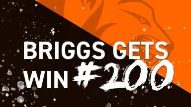 Briggs Gets Win #200 image