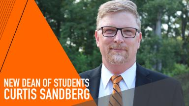 Curtis Sandberg is new Dean of Students