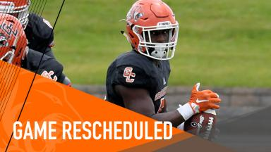 Football Game rescheduled