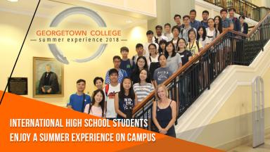 International High School Students Enjoy Summer Experience