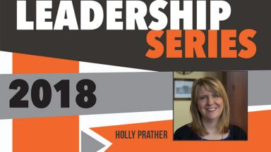 Alumna Holly Prather Speaks to Future Leaders