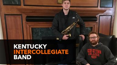 Duo Selected for Kentucky Intercollegiate Band
