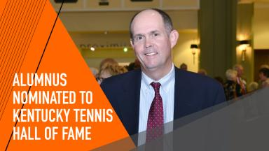 Former Competitive Tennis Tiger Nominated
