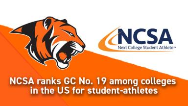NCSA Ranks GC No. 19