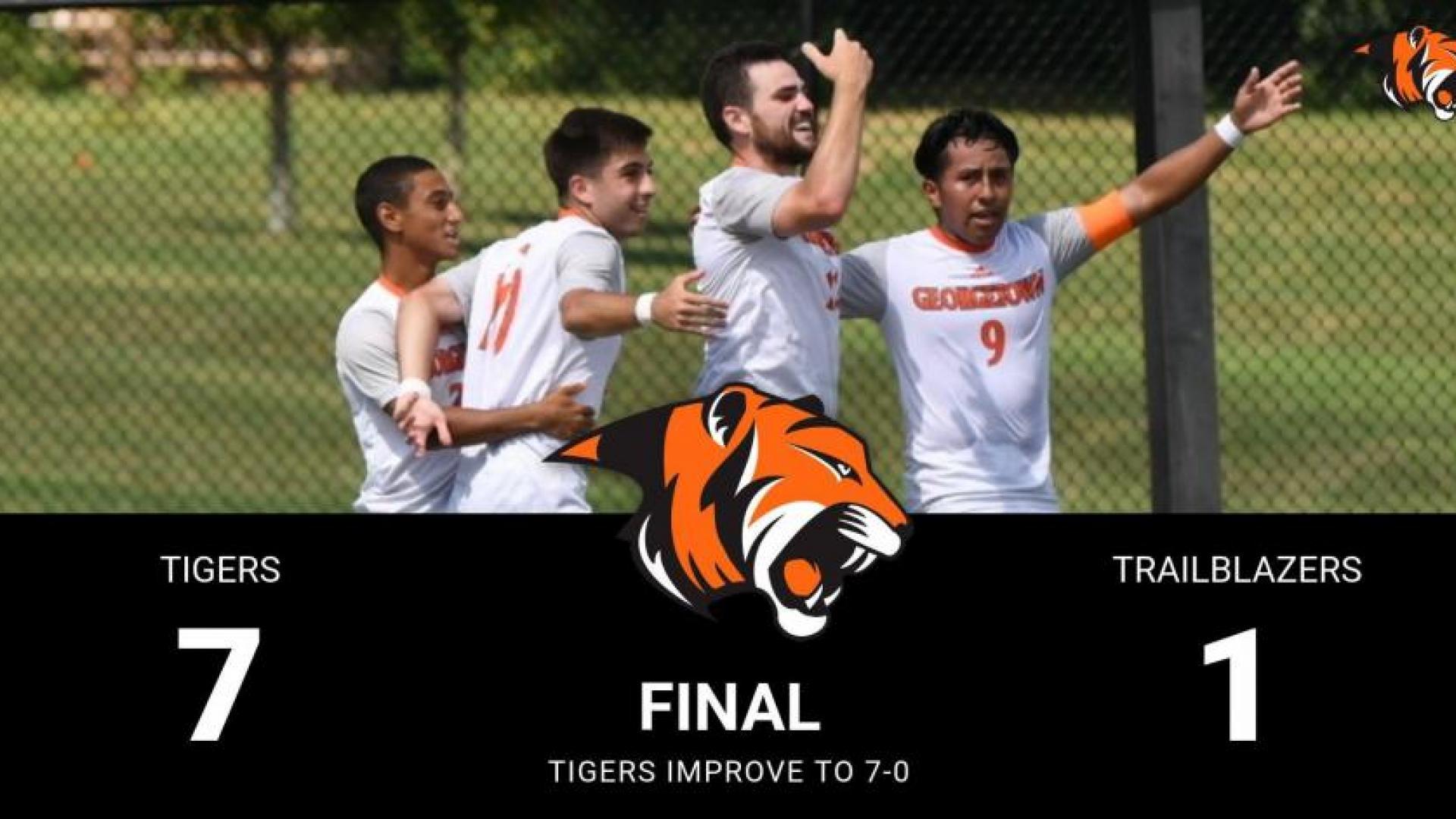 Tigers Celebrate Goal