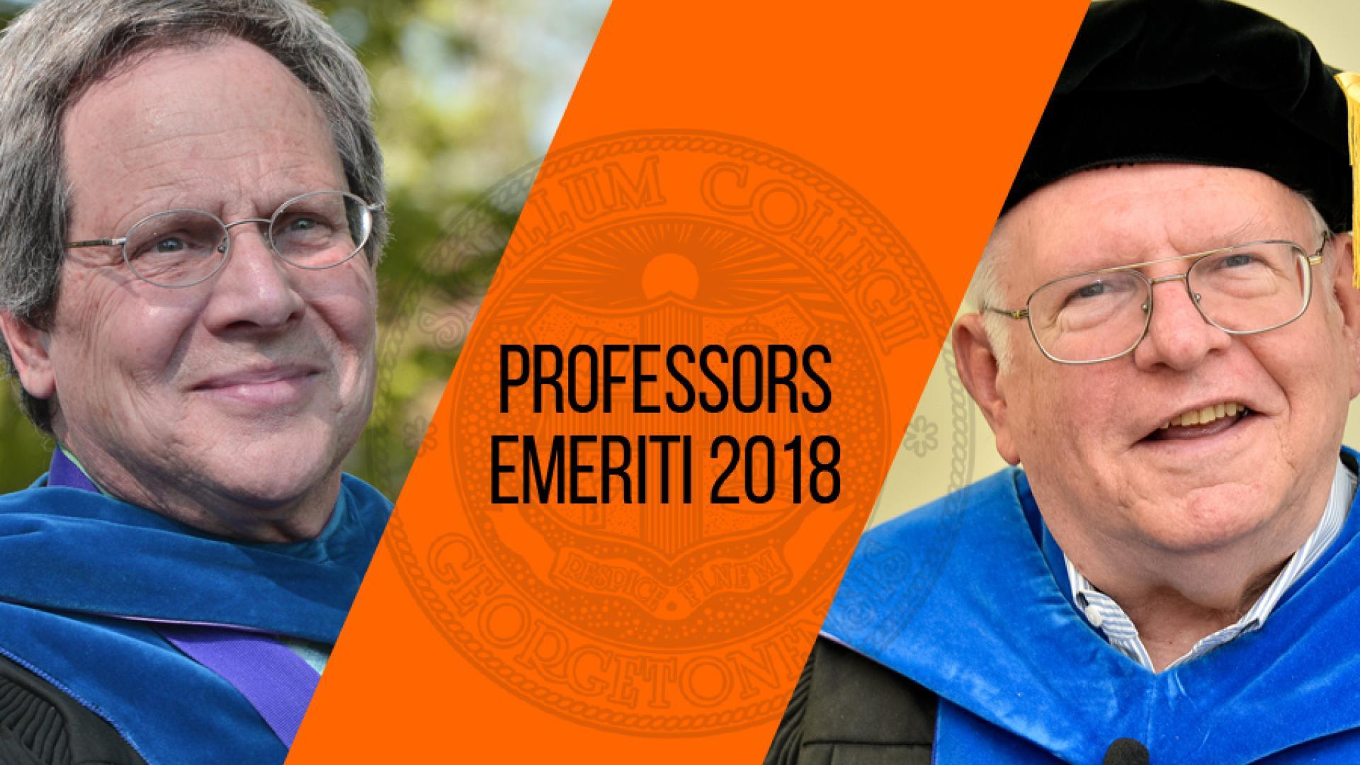Professors Johnson and Klotter Achieve Emeritus Status