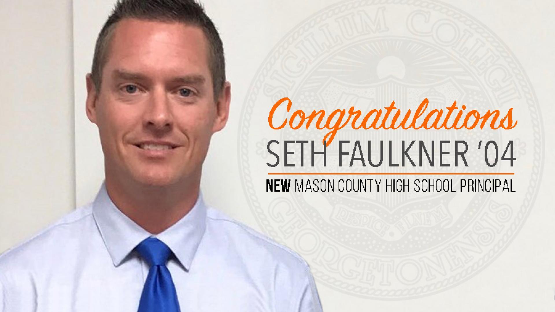 Faulkner named Mason County High Principal