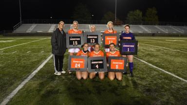 Senior Women's Soccer Players