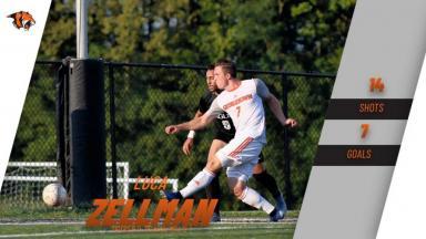 Zellman shooting the ball