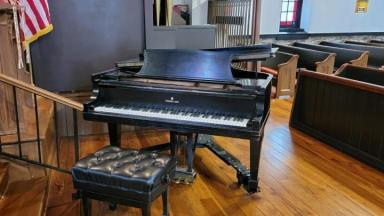 Piano in Cooke Memorial