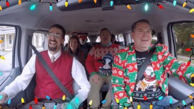 President Jones Sings Jingle Bells