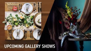Art Galleries Open Exhibits