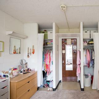 first year women closets