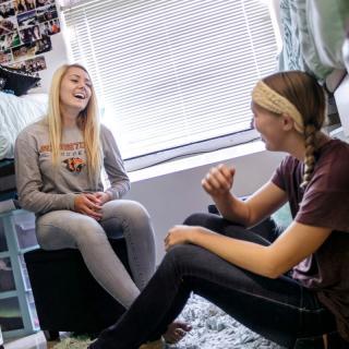 first year women in dorm